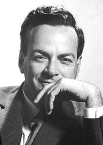 Professor Richard Feynman. Nobel prize and one of the forefathers of quantum computing.